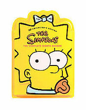 The Simpsons - Series 8 - Complete (DVD,  4-Disc Set) head shaped box