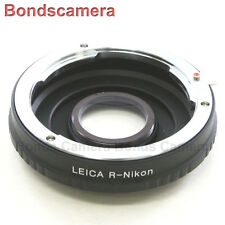 Leica R L/R Lens to Nikon F mount Adapter Infinity optical D750 D800 D7000 D5200