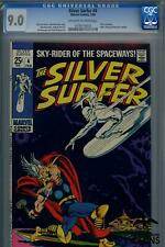 1969 Silver Surfer #4 Marvel Comic CGC Certified 9.0 THOR Crossover Hulk Thing