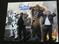 PETER MAYHEW Signed CHEWBACCA 8x10 Photo STAR WARS STEINER COA & BGS BECKETT COA
