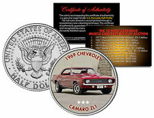 1969 CHEVROLET CAMARO ZL1 Expensive Auction Muscle Car JFK Half Dollar US Coin