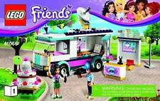 2 NIB LEGO Friends 41098 & 41056 Tourist Kiosk/Heartlake News