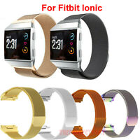 Milanese Loop Stainless Magnetic Watch Band For Fitbit Ionic Steel Metal Strap