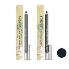 2 PCS Clinique Cream Shaper for Eyes Makeup Eye Liner 101 Black Diamond #7882_2
