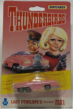 THUNDERBIRDS : FAB 1 CARDED DIE CAST MODEL MADE BY MATCHBOX IN 1992