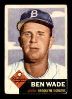 1953 Topps #4 Ben Wade  VGEX X1434051