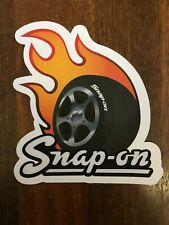Spanner motif Snap-On Tools Tool Box Sticker Decal Guaranteed Quality