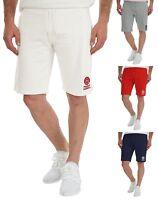 Franklin & Marshall Mens Casual Slush Jogger Shorts Fleece Cotton Sport Gym Pant