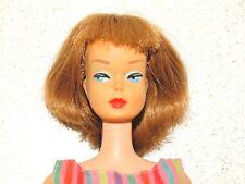 Barbie:  VINTAGE Cinnamon Brown LONG HAIR Bend Leg AMERICAN GIRL BARBIE Doll!