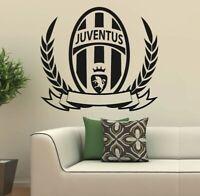 FC Juventus Italy Wall Decor Vinyl Sticker Decal mural graphics soccer gift logo