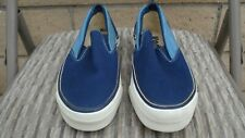 Rare Nos 1970's Keds Slip-On Canvas Sneakers Men's Size 7M Made In Usa!