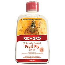 Richgro FRUIT FLY SPRAY 500ml Naturally Based Controls & Repels Aust Brand