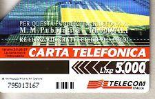 Telefonkarte Italien gut erhalten + unbeschädigt (intern: 2287 )