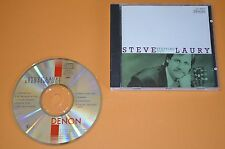 Steve Laury - Stepping Out / Denon 1990 / Made In Japan / Rar
