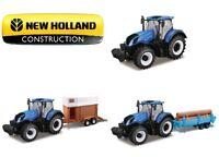 Bburago 1:32 Farm Tractor New Holland T7HD Collectable Diecast Metal Car Model