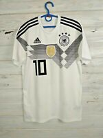 Anna Germany Jersey 2018 2019 Home S Shirt Football Soccer White Adidas BR7843