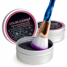 Color Makeup Brush Clean Eye Shadow Sponge Cleaner Tool Iron Box Switch Cosmetic