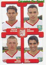 411 RAMOND / GUEGAN / AURIAC  OLIVEIRA STADE BRESTOIS STICKER FOOT 2005 PANINI