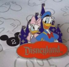 Donald & Daisy Duck Disneyland Resort Castle Costco Travel DLR Disney Pin 119203