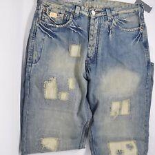 NWT Blue Blood Mens Size 33 × 34 Lightwash Blue Denim Jeans