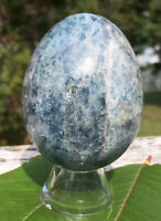 212g RARE Natural K2 Granite Azurite Polished Healing Egg from PAKISTAN  Reiki