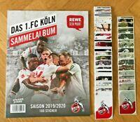 REWE Stickerstars 1. FC Köln Sticker | Einzelsticker aussuchen 1-160 + Glitzer