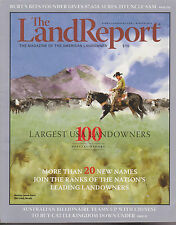 THE LANDREPORT MAGAZINE WINTER 2016 *100 LARGEST USA LANDOWNERS*