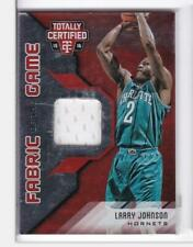 2015-16 Larry Johnson #/199 Jersey Panini Totally Certified Hornets