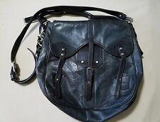 Joy Gryson Taylor Black Leather Satchel