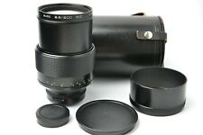 Carl Zeiss Jena MC Sonnar 2.8/200 lens M42 mount S/N 10432044