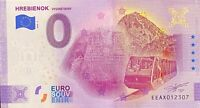 BILLET 0  EURO  ZIARSKA CHATA  ANNIVERSARY SLOVAQUIE    2020 NUMERO DIVERS