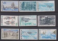 MONACO : 1977 Prince Albert'Career of a Navigator'  set 2 SG1305-13 MNH