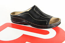 Berkemann Damen Pantolette Pantoletten Clogs Pantoffel schwarz Leder 01105 NEU!