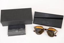 Christian Dior DiorSoReal brown havana panel aviator frame sunglasses NEW $495