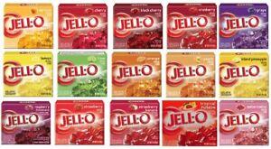 JELL-O Gelatin Dessert JELLO *Variation!* 3 oz / 85g & Up!  From UK Ship!