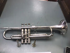 Yamaha YTR-734 Silver Plated Trumpet w/ Schilke 13A4A & Benge 6C Mouthpiece