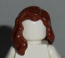 HAIR Lego F012 Female Reddish Brown Mid Length Part over Right Shoulder Unisex