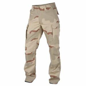 Desert Camo Trousers Genuine BDU Combat Army Cargo 3 Colour Camoflague