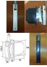 Recogedor embutido de persiana compacto con cinta de 14 mm, empotrado