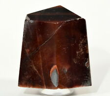 235ct 32mm Red Tiger's Eye Point Chatoyant Crystal Dragon's Eye Mineral - Africa