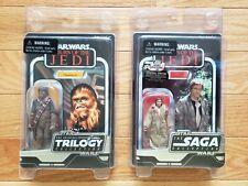 Star Wars Vintage Original Trilogy Chewbacca & Vintage Saga Collection Han Solo