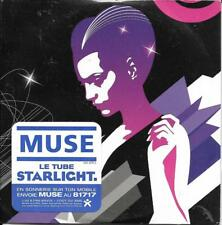 CD CARTONNE CARDSLEEVE 2 TITRES MUSE STARLIGHT 2006 NEUF SCELLE FRENCH STICKER