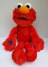 "Rare 1994 Vintage Sesame Street Elmo 19"" Plush with Applause Plastic Tag"