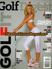 Golf Digest 5/14,Paulina Gretzky,May 2014,NEW