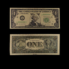 Gold Dollar Foil Money Us Paper 1 Banknotes Usd 24k Gold Banknote for Collection