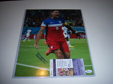 Clint Dempsey United States World Cup Soccer Jsa/Coa Signed 11X14 Photo