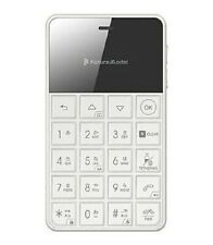 NichePhone-S tiny little Android Credit Card phone JAPAN NEW DHL White Slim