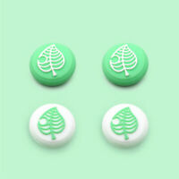 4Pcs Joystick Thumb Grips Silicone Caps For Nintendo Switch Lite Animal Crossing
