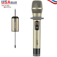 Wireless Handheld Karaoke Microphone UHF with Mini Portable Receive 25 Channel
