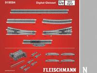 Fleischmann 919084 - DCC Digital-Gleisset 2 Ü2 - Spur N - NEU